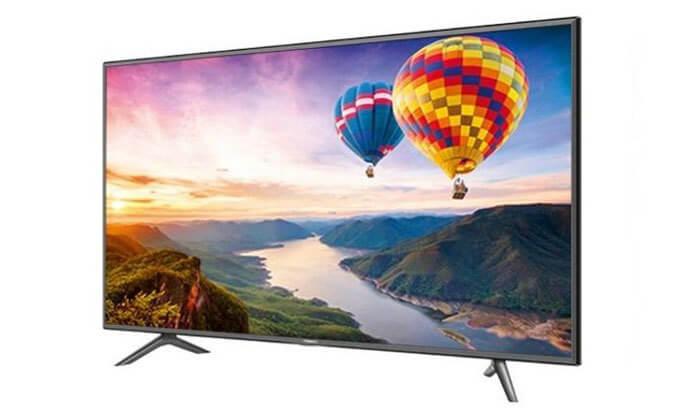 2 טלוויזיה חכמה 4K HISENSE, מסך 65 אינץ'