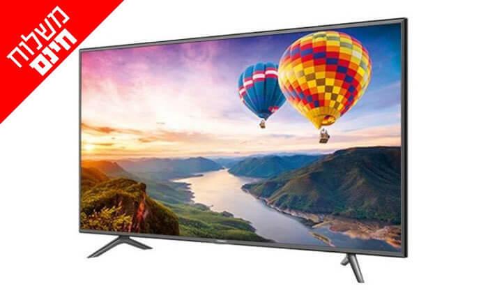 2 טלוויזיה SMART LED TV 4K HISENSE, מסך 55 אינץ' - משלוח חינם!