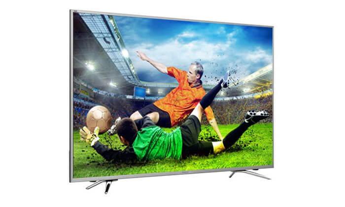 2 טלוויזיה ULED SMART TV 4K HISENSE, מסך 55 אינץ' - כולל הובלה והרכבה חינם!