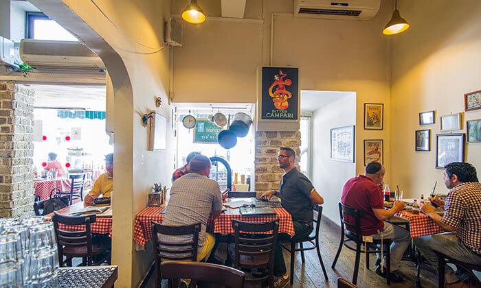 3 ארוחה זוגית במסעדת SOUPIZZA הכשרה, יהודה הלוי תל אביב