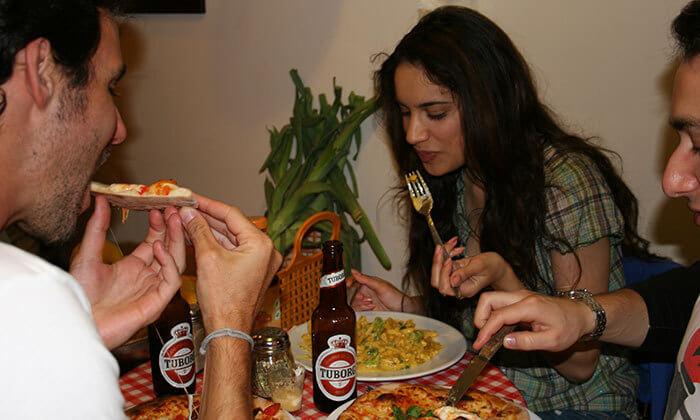 4 ארוחה זוגית במסעדת SOUPIZZA הכשרה, יהודה הלוי תל אביב
