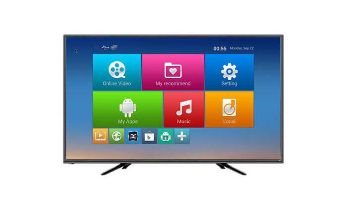 2 טלוויזיה NEON נאון SMART 4K, מסך 65 אינץ'