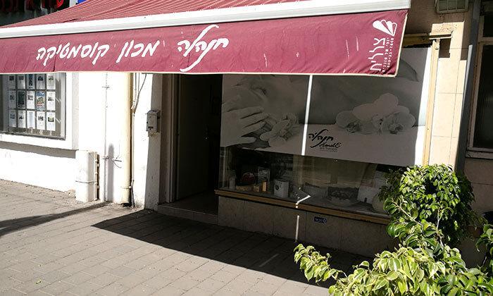 3 מני פדי או לק ג'ל בחנל'ה, תל אביב