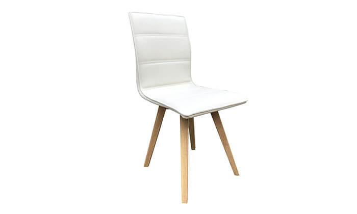 4 כיסא מרופד לפינת אוכל KALINA