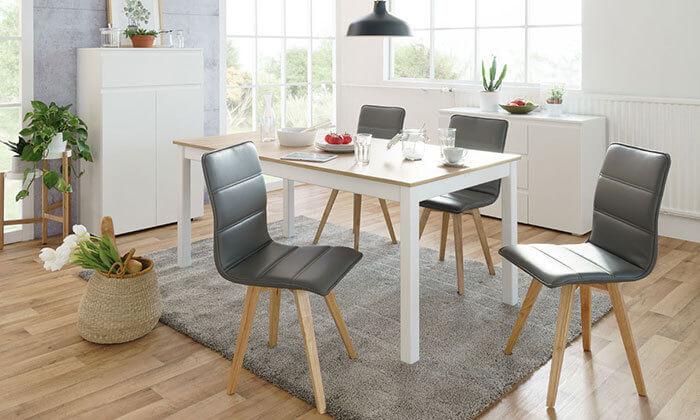 11 כיסא מרופד לפינת אוכל KALINA