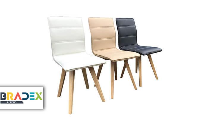 2 כיסא מרופד לפינת אוכל KALINA