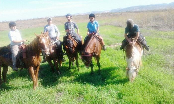 2 חוות צהלה - רכיבה על סוסים