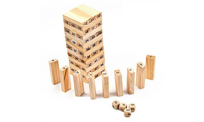 7 משחק ג'נגה מעץ