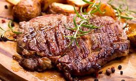 ארוחת בשרים במסעדת milagro