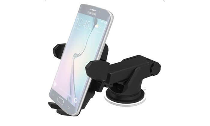 4 זרוע סמארטפון עם טעינה אלחוטית לרכב
