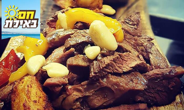 7 ארוחת ערב זוגית מהתפריט של שף אביב משה במסעדת פיפט אבניו הכשרה, אילת