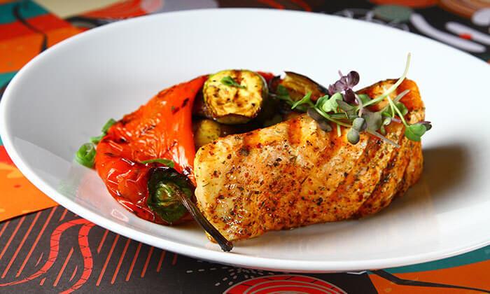 4 ארוחה זוגית בשרית במסעדת בולמוס- גריל בר ישראלית כשרה ,אזור תעשייה תנובות