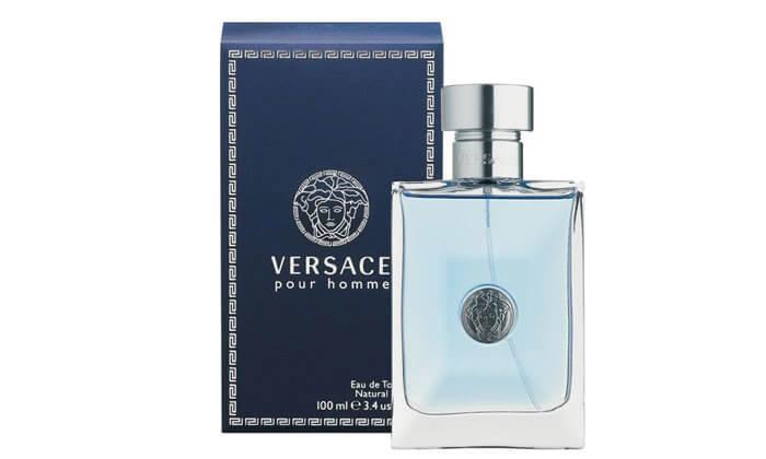 2 בושם לגבר Versace pour Homme