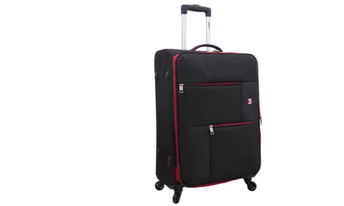 4 מזוודה משפחתיתSWISS LITE בגודל 32 אינץ'