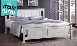 מיטה זוגית מעץ מלא BRADEX