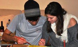 סדנת ציור משותף לזוגות, חיפה