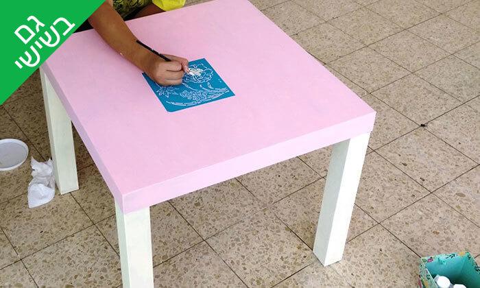 5 השתתפות בסדנה לחידוש רהיטים, חיפה