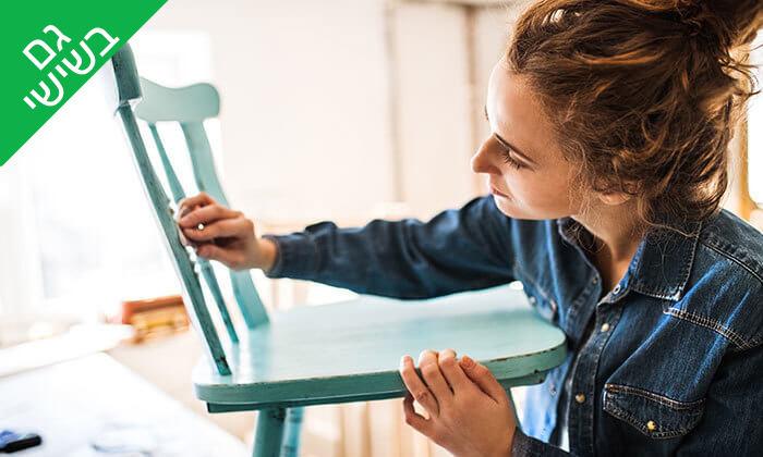 2 השתתפות בסדנה לחידוש רהיטים, חיפה