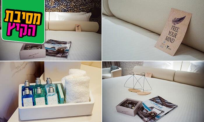 5 חבילת פינוק במלון ריזורט west&spa, נתניה