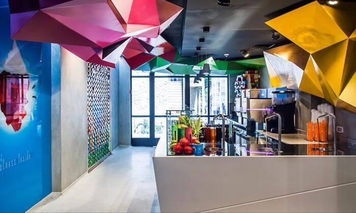 3 מילקשייק או אייס קפה בג'לאטו פקטורי, מתחם שרונה מרקט תל אביב
