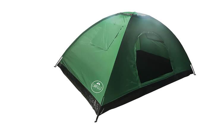 2 אוהל ל-6 אנשים CAMP&CO - משלוח חינם!