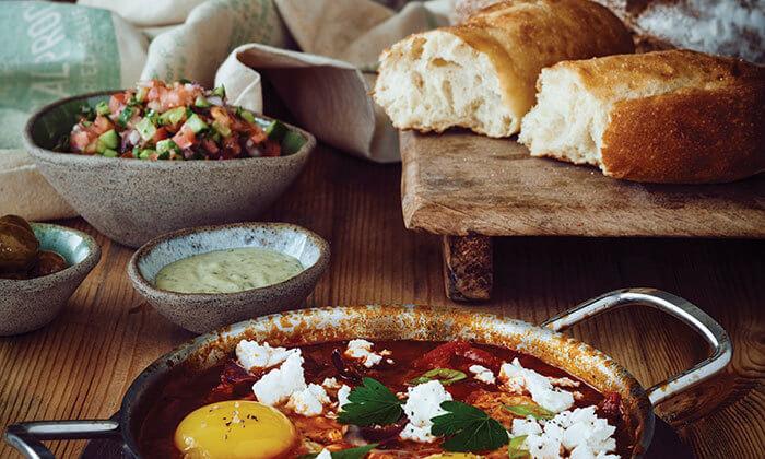 4 ארוחה זוגית בלחם ארז, רעות