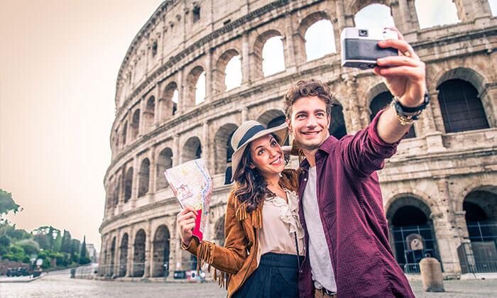 2 חופשה ברומא הרומנטית - הקולסיאום, המזרקה והפיצות הטובות בעולם
