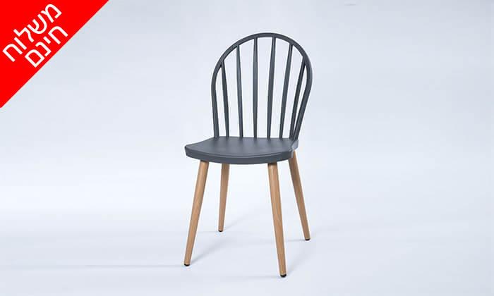 4 כיסא לפינת אוכל - משלוח חינם!