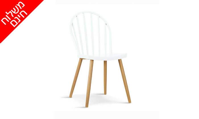 6 כיסא לפינת אוכל - משלוח חינם!