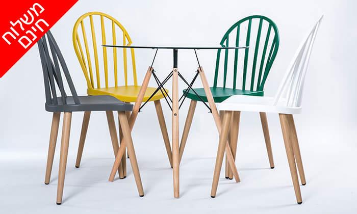 3 כיסא לפינת אוכל - משלוח חינם!