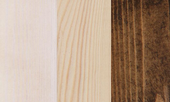 3 מיטהזוגית מעץ מלא עם מזרן