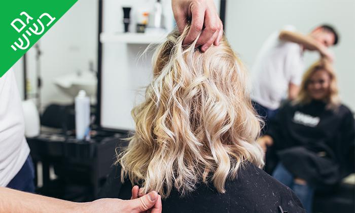 2 טיפולי שיער במספרת ינון אברהם, פתח תקווה