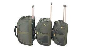סט 3 מזוודות בד DUFFLE
