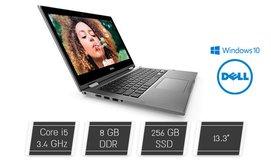 נייד Dell מסך מגע מתהפך ''13.3