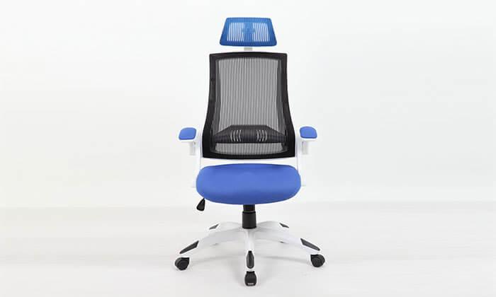 3 כסא מנהלים אורטופדי עם גב רשת
