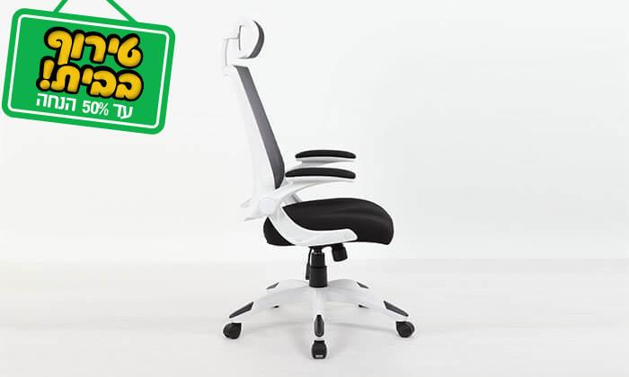 9 כסא מנהלים אורטופדי עם גב רשת