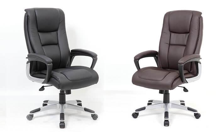 12 כסא מנהלים - משלוח חינם
