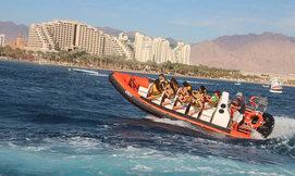 שייט על סירת טורנדו ואבובים