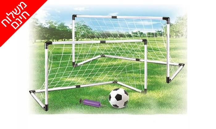 3 זוג שערי כדורגל 1.20 מטר - משלוח חינם!