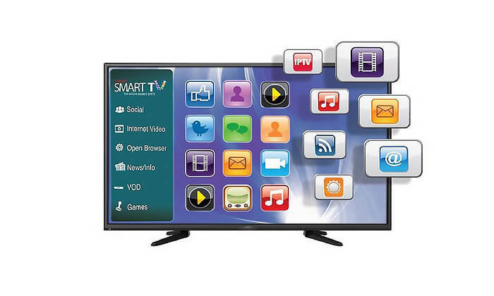 2 טלוויזיה Fujicom - פוג'יקום SMART 4K, מסך 75 אינץ'