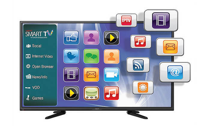 2 טלוויזיה Fujicom - פוג'יקום SMART 4K, מסך 55 אינץ'
