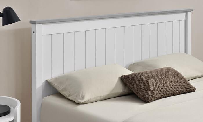 4 מיטה זוגית מעץ מלא HOME DECOR
