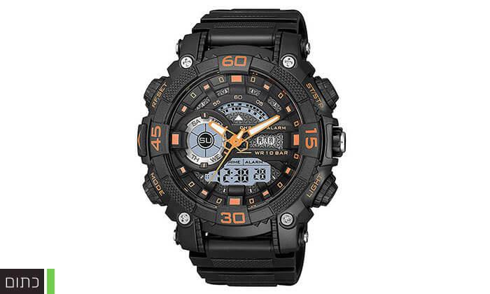 3 שעון יד דיגיטלי לגברQ&Q