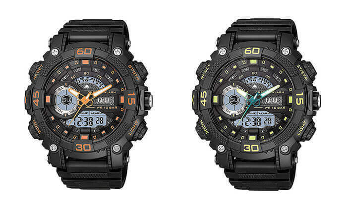 5 שעון יד דיגיטלי לגברQ&Q