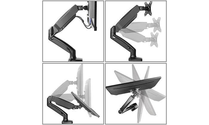 5 זרוע למסך מחשב