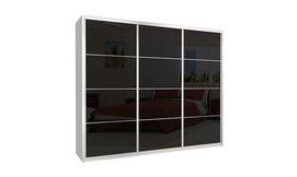 ארון הזזה כרמל 3 דלתות זכוכית