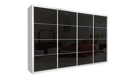 ארון הזזה כרמל 4 דלתות זכוכית
