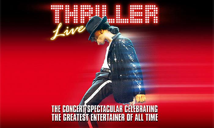 2 כרטיס למחזמר Thriller Live בלונדון