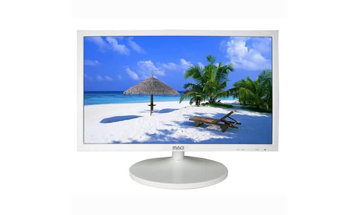 2 מסך מחשב21.5 אינץ' MAG