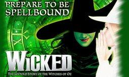 כרטיס למחזמר WICKED בלונדון